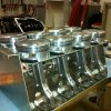 new pistons adn rods assembled ready for installation-800